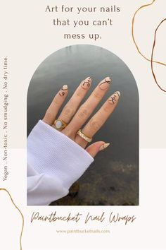 At-home nail art kits made to give you a salon worthy manicure. Say goodbye to smuding & dry-time and hello to perfect nails with Paintbucket nail wraps.. Cute Acrylic Nail Designs, Simple Acrylic Nails, Nail Art Designs, Stylish Nails, Trendy Nails, Cute Nails, Gel Nails, Manicure, Nail Polish