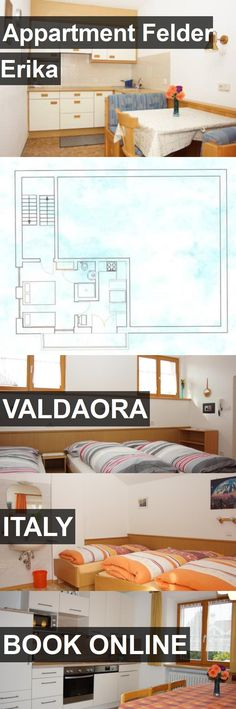 Hotel Appartment Felder Erika in Valdaora, Italy. For more information, photos, reviews and best prices please follow the link. #Italy #Valdaora #travel #vacation #hotel
