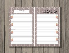 New Single Weekly and Monthly Calendar Printables now available in my shop. www.etsy.com/shop/chaosmadesimple