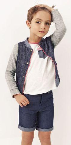 Blune Kids qué preciosa colección de moda infantil ! > Minimoda.es Young Fashion, Tween Fashion, Cute Fashion, Girl Fashion, Dope Outfits, Kids Outfits, Cute Boys, Cool Kids, Moda Tween