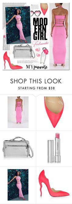 """""""Ricki Brazil"""" by mada-malureanu ❤ liked on Polyvore featuring Christian Louboutin, McQ by Alexander McQueen, By Terry, Estée Lauder, myfavorite and rickibrazil"""