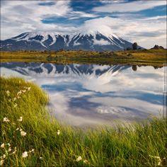 Russia, Kamchatka, Kluchevskoy park, Tolbachik volcano
