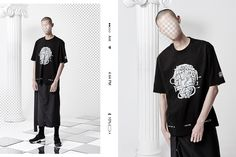Featuring streetwear ponchos and some witty logo flips from Korean brand Antimatter.