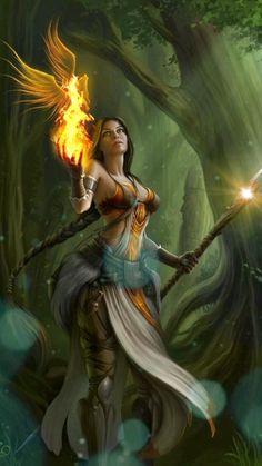 Fantasy Art Women, Beautiful Fantasy Art, Fantasy Warrior, Medieval Fantasy, Dark Fantasy Art, Fantasy Artwork, Fantasy Images, Final Fantasy, Fantasy Creatures