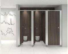 City MFC Washroom Toilet Cubicles | Commercial Washrooms