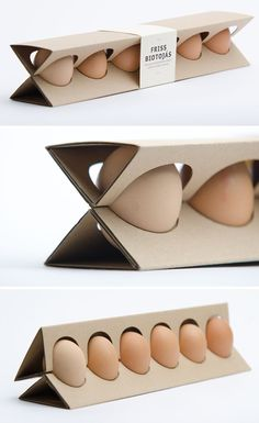 Packaging de huevos chulísimo