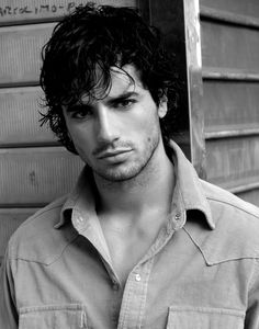 Antonio Cupo - that slight sulk is so sexy. He looks very modern here but I can still see him as Alec.