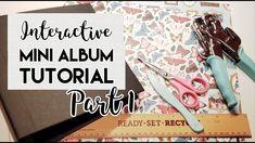 8x8 Interactive Mini Album Tutorial (DT for CCC)