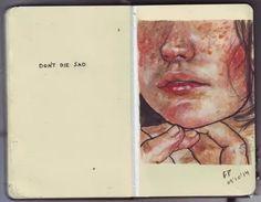 Image de sad, art, and die