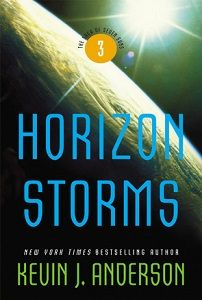 Magnificent Storms are Brewing in This Universe | Review of 'Horizon Storms' (The Saga of Seven Suns, #3) | Cyn's Workshop