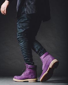 New @RUVILLA exclusive #PurpleDiamond Timberland Boot. Available 1.28.16 RUVILLA.com