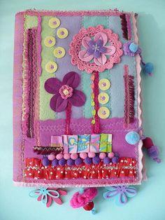 Cartellina textile- Elena Fiore