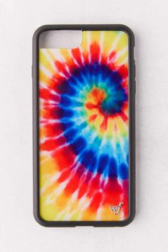 Wildflower Tie Dye Iphone 6/7/8 Plus Case White in 2020