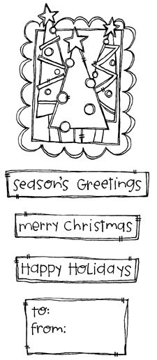 Description Framed Christmas Trees x 3 To: & From: x 1 Christmas Tree With Presents, Merry Christmas Happy Holidays, Merry Christmas Greetings, Christmas Love, Christmas Crafts, Christmas Trees, Christmas Decorations, Christmas Signs, Christmas Doodles