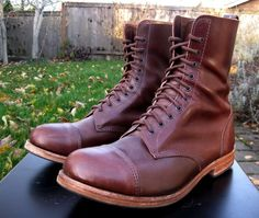 William Lennon Derby boots by thefedoralounge user jimmer_5