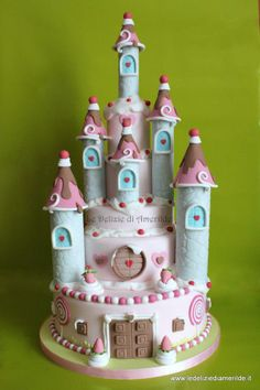 Who couldn't love this. Perfect princess cake