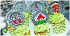 Deliciously Darling | Teenage Mutant Ninja Turtle Birthday Party | Desserts