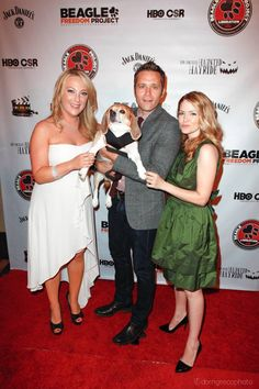 BFP Founder and President Shannon Keith with Juliana Dever, Seamus Dever and Clover at the Hollywood Gala Celebration on Sunday! The goal of the evening was to raise enough money to break ground on the new BFP Rescue and Outreach Center as well as to finance next year's political campaigns in support of the Beagle freedom bill.