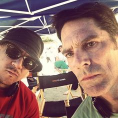 Twitter @VirgilWilliams: We out here doin this #CriminalMinds thing. | Criminal Minds Season 10 Behind The Scenes