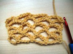 Making Crochet Mesh/Netting - CraftStylish
