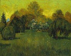 Vincent Van Gogh, The Poets Garden, 1888