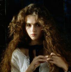 Helena Bonham Carter young