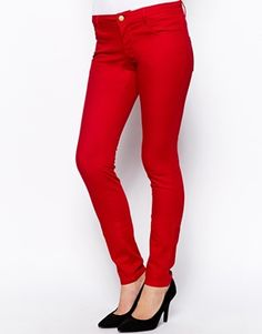 """Only Low Skinny Trousers 32"""" Leg"""