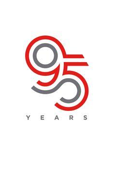 95 Year Anniversary logo for Cummins Inc. designed by Tony Beard