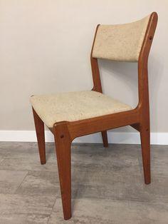 Scandinavia Woodworks Co Teak Dining Or Desk Chair