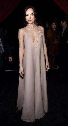 Wearing Valentino at the Fifty Shades Darker Masquerade Ball in LA 02/02/17