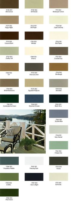 ral pantone color chart