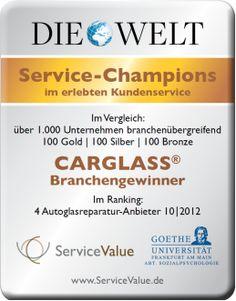 Wir sind Service-Champions im erlebten Kundenservice. Testen Sie uns!