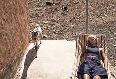 visual optimism; fashion editorials, shows, campaigns & more!: louise parker by laurie bartley for flair #17 may 2015