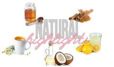 Natural Highlights with honey, lemons, cinnamon and chamomile tea!