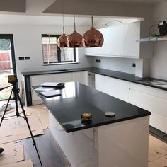 Nero Stella- Maidenhead, Berkshire - Rock and Co Granite Ltd Granite, Kitchen, Furniture, Home Decor, Cooking, Decoration Home, Room Decor, Granite Counters, Kitchens