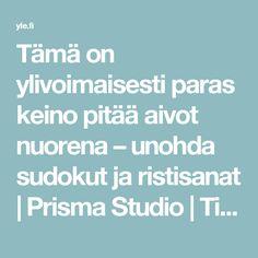 Tämä on ylivoimaisesti paras keino pitää aivot nuorena – unohda sudokut ja ristisanat  | Prisma Studio | Tiede | yle.fi