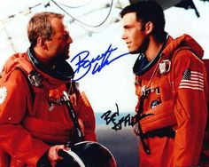 Bruce Willis & Ben Affleck in Armageddon Signed Autographed 8 X 10 Reprint Photo - Mint Condition
