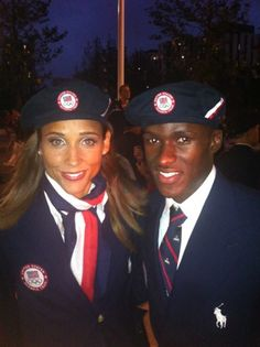 track & field stars Will Claye & Lolo Jones, two class acts who give all the honor of their triumphs to God