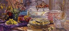 Still Life Painting by Janet Fish American Painter ~ Blog of an Art Admirer
