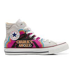 Scarpe Converse All Star personalizzate (Prodotto Artigianale) Charlies Angels - TG32 - http://on-line-kaufen.de/make-your-shoes/32-eu-converse-all-star-personalisierte-schuhe-17