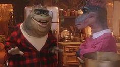 Dinosaurs dad Earl Sinclair raps Notorious B.'s Hypnotize in perfect mashup Dinosaurs Tv Series, Earl Sinclair, Benjamin Roberts, Disney Dinosaur, History Of Television, 70s Tv Shows, Rap Songs, Kids Tv, Kids Shows
