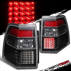 2007 2008 2009 2010 2017 Ford Expedition Led Black Clear Tail Lights Pair