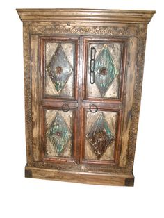 Indian Furniture, Bohemian Clothing, Statues and Sculptures Online Eclectic Furniture, Indian Furniture, Rustic Furniture, Antique Furniture, Cool Furniture, Painted Furniture, Modern Furniture, Furniture Ideas, Reclaimed Doors