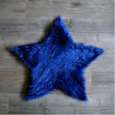 Faux Sheepskin Star