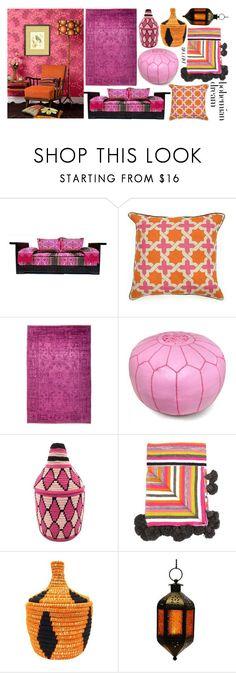 """Bohemian Dream: Moroccan Decor"" by swimwearlover on Polyvore featuring interior, interiors, interior design, home, home decor, interior decorating, Barakà and moroccandecor"