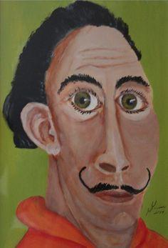 Pinturas con el hemisferio derecho del cerebro de Las creaciones más bellas de Ale por DaWanda.com