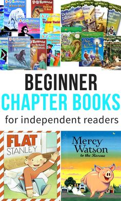 Beginner Chapter Books for Independent Readers