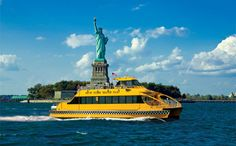 Take a NY water taxi to see the Statue of Liberty