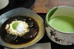 Matcha + Warabi-mochi @Ryubido (next to Nigatsudo)