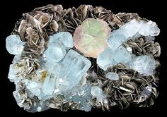 "Aquamarine from Summayar, Nagar-Minerals-Giligit: Minerals, Gem Stones: From the Land of Summayar ""ChumarBakur"" Nagar Valley, Gilgit"